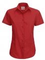 dames_blouse_korte_mouw_rood