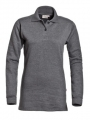 dames_polosweater_donkergrijs